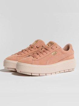 Puma Frauen Sneaker Platform Trace in rosa