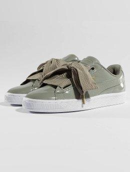 Puma Sneakers Basket Heart Patent szary