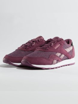 Reebok Baskets Classic Nylon pourpre
