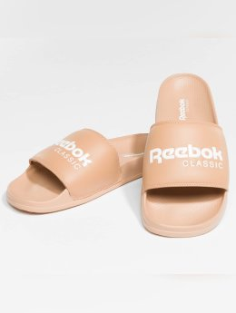 Reebok / Slipper/Sandaal Classic Slid Field in beige