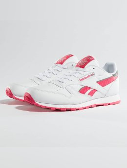 Reebok sneaker  Leather Reflect  wit