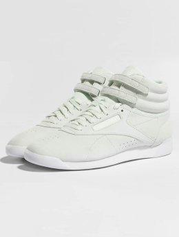 Reebok Freestyle Hi Nubuk Sneakers Opal/White