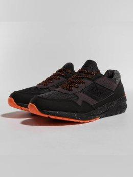 Superdry Street Runner Sneakers Black/Hazard Orange
