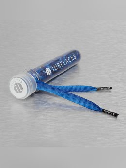 Tubelaces Lacet White Flat Sundowner bleu