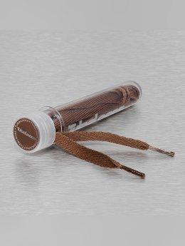 Tubelaces Lacet Flat Laces 90cm brun