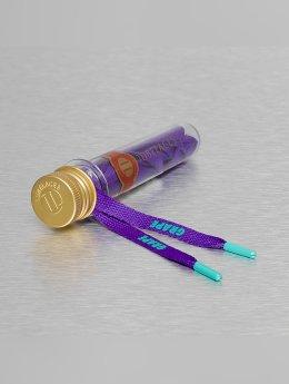 Tubelaces Schnüsenkel Flat Hook Up violet