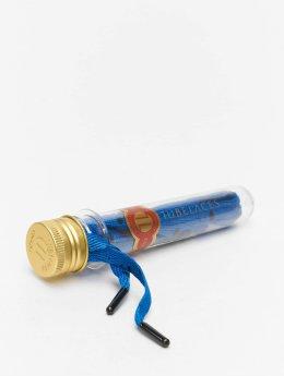 Tubelaces Snørebånd  Flat Splatter II blå