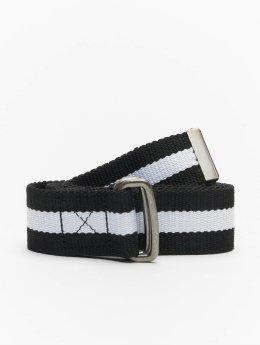 Urban Classics riem Stripe zwart