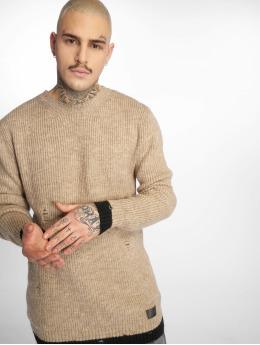 2Y Пуловер Harvey бежевый
