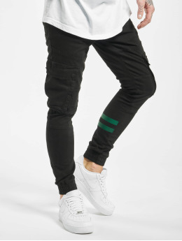 2Y Cargo pants Zeheb  black