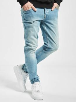 2Y dżinsy przylegające Alperen niebieski
