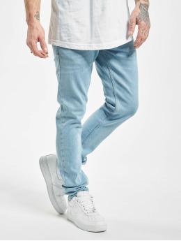2Y dżinsy przylegające Curt  niebieski