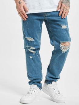 2Y dżinsy przylegające Lakewood  niebieski