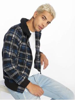 2Y Giacca Mezza Stagione Lumberjack blu