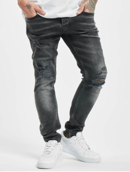 2Y Jean skinny Ken  gris