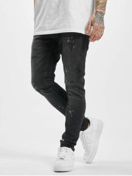 2Y Jean skinny Fex noir