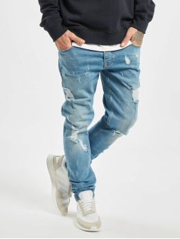 2Y Jeans ajustado Chump azul