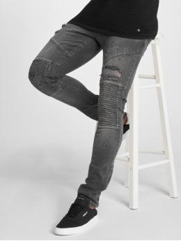 2Y Jeans ajustado Liso gris