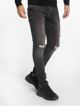 2Y Jeans ajustado Warren negro
