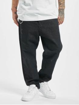 2Y Loose fit jeans Fred  zwart