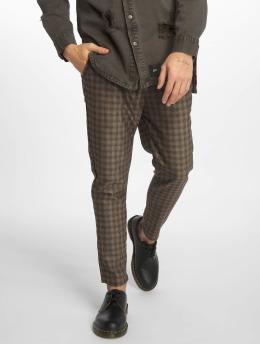 2Y Pantalon chino Toby brun