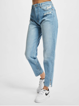 2Y Premium Mom Jeans Frieda blau