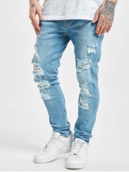 2Y Premium Skinny jeans Spokane  blå
