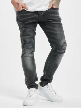 2Y Premium Skinny Jeans Ken  szary