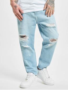 2Y Premium Straight Fit Jeans Billings  modrý