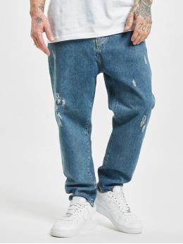 2Y Premium Straight Fit Jeans Raleigh  modrý