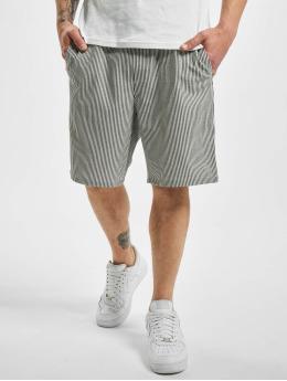 2Y Shorts Striped  schwarz