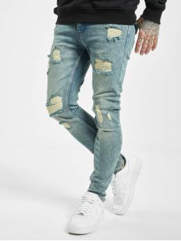 2Y Skinny Jeans Umit blå