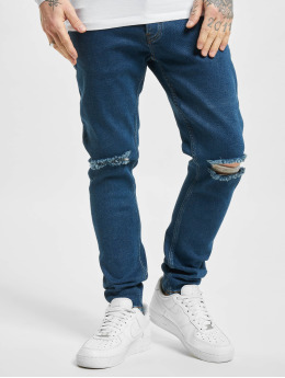 2Y Skinny Jeans Quentin  blå