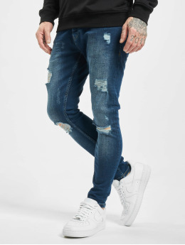 2Y Skinny Jeans Zerrin  blau