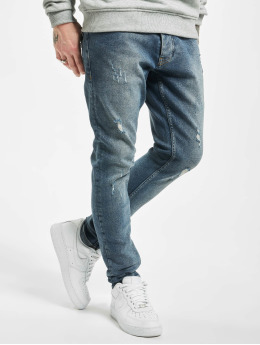 2Y Skinny Jeans Cliff blau