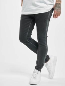 2Y Skinny jeans James  zwart