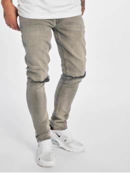 2Y Slim Fit -farkut Jerry harmaa