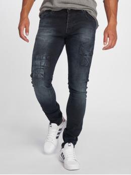 2Y Slim Fit -farkut 075741 sininen