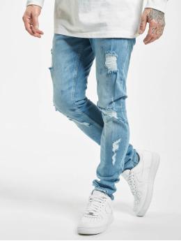 2Y Slim Fit -farkut Alan sininen