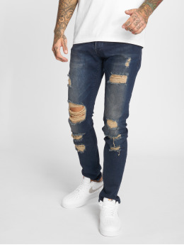 2Y Slim Fit Jeans Tay blå