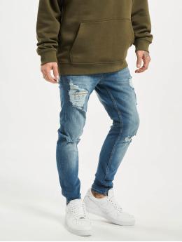 2Y Slim Fit Jeans Adrian  blå
