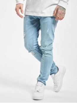 2Y Slim Fit Jeans Ako blå