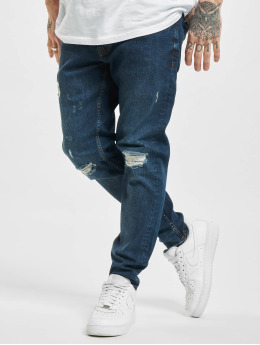 2Y Slim Fit Jeans Memphis  blå