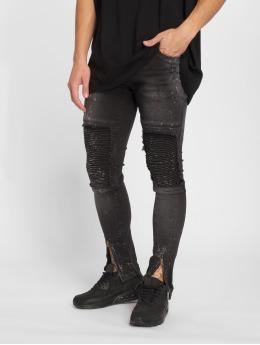 2Y Slim Fit Jeans Ron grå