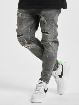 2Y Slim Fit Jeans Okan  grå