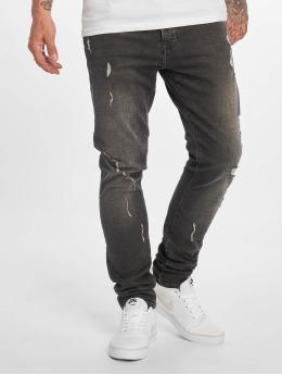 2Y Slim Fit Jeans Victor grijs