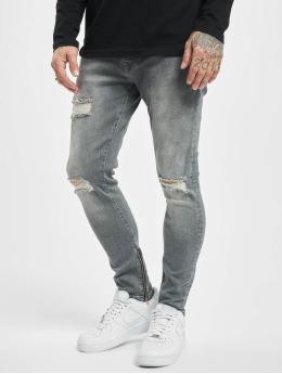 2Y Slim Fit Jeans Robert  grijs