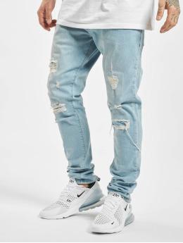 2Y Slim Fit Jeans Theo  modrá