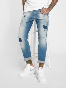 2Y Slim Fit Jeans Carlo modrý