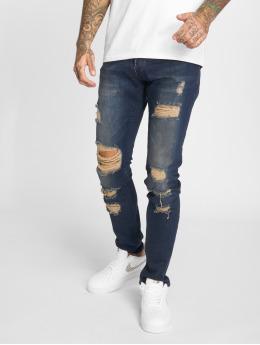 2Y Slim Fit Jeans Tay modrý